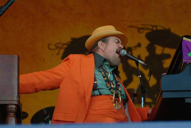 Dr. John at the 2005 New Orleans Jazz & Heritage Festival (Photo: Leon Morris)