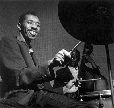 барабанщик Филли Джо Джонс (Philly Joe Jones)